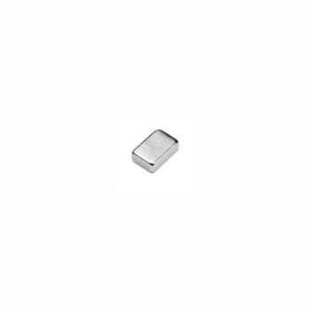 Stark kubmagnet av neodymium 6x4x2 mm