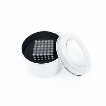 Svarta magnetiska bollar i metalllåda - 216-pack