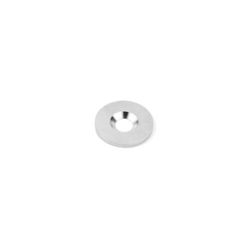 Magnetisk metallplåt 18 mm med skruv hål