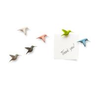 Humming Bird's Message - Kolibri - Kylskåpsmagneter.