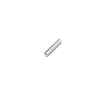 Supermagnet 3x20 mm av neodymium med förnicklad yta